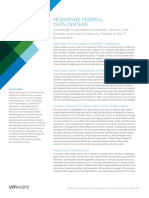 VMware Federal Government Modernize Data Centers Solution Overview En