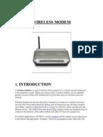 Wireless Modem