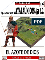 16 Campos Catalaunicos 451 Dc Osprey Del Prado