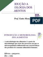 Aula 01 Introduo Microbiologia Dos Alimentos