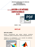 02 IMC 2016 2 Introduccion a Matlab Vectores Polinomios Matrices Graficas