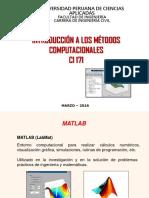 02 IMC 2016 2 Introduccion a Matlab Vectores Polinomios Matrices Graficas