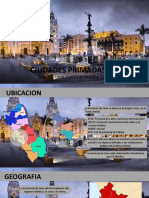 Ciudades Primadas en El Peru Pptx