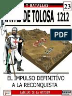 23 Navas de Tolosa 1212 Osprey Del Prado