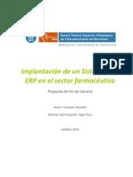 Project de Fin de Carrera - Un Projecte Amb SAP