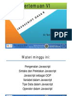 Materi 06a.javascript Dasar%23pengenalan Javascript