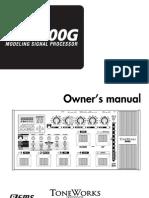 AX3000G Manual