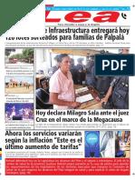 Periódico Lea Lunes 23 de Abril Del 2018