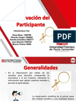 Diapositivas Observacion Del Participante