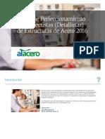 Curso de Perfeccionamiento de Proyectistas Detallistas de Estructuras de Acero 2016