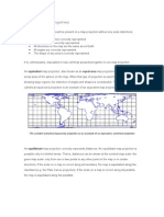 3 Properties of Map Projections