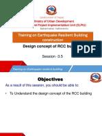 3.5 RCC Design Procedure