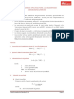 Formulas Credito Automatic o