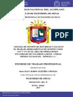 Alegre Cornejo Raul Bores