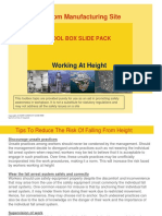 Working at Height Toolbox Slide Pack