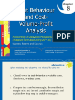 Chapter 8 - Cost Volume Profit - Edited