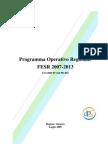 Programma Operativo Regionale - Abruzzo - Fers 2007-2013