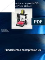 Fund en Printer 3D Con Prusa-Steel