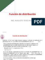 5A Función de Distribución