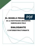 Modelo Pedagogico Dialogante de La Institucion Edu. Mrceliano Polo