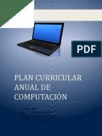 Plan Curricular Anual Oficial de computación primaria, secundaria.