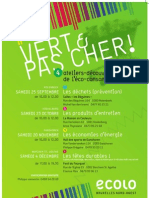 Affiche Eco consommation