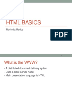 Basic HTML Intro