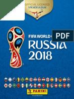 ÁLBUM PARA EL PUEBLO PERUANO PANINI Mundial Rusia 2018 Oficial COCACOLA  PARTE 2