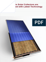 Sundware Solarsolar Collectors Are Manufactured With Latest Technology