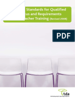 Qts Professional Standards 2008