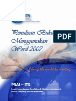 Buku Pelatihan Penulisan Buku Ajar Menggunakan Word 2007 (Dengan Video)(1)