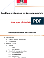 2018 Fouilles en Terrain Meuble