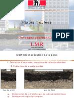 2013 Parois Moulées Et Préfabriquées