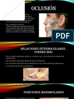 dentaria oclusion