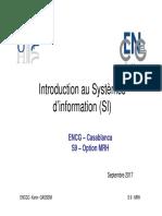 Cours 1 Introdcution Au SI