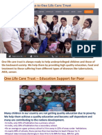 One Life Care Trust Effort Is Endless
