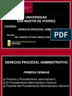 1 Procesal Administrativo Proceso y Procedimiento