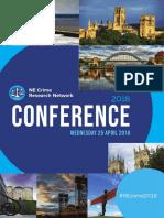 ne crime conference programme 25 april 18