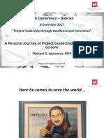 PMI Bahrain Conference - 6 Dec 2017