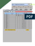 Calculate Percentage Voltage Regulation of Line 22-8-12