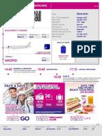 BoardingCard 157115375 OTP MAD Elena Arion Bucuresti-Madrid