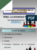 SESIÓN N° 01 - LA SOCIEDAD PERUANA