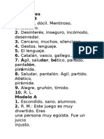 Soluciones Prueba de Nivel 3º Primaria Lengua