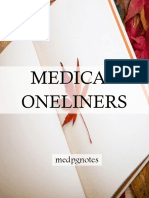 Medical Oneliners