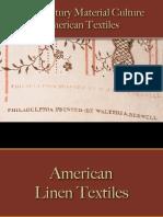 Textiles - American Textiles
