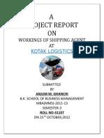Anjum Project Report