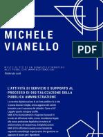 COMPANY PROFILE Michele Vianello Aprile 2018