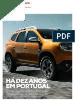 """A HISTÓRIA DE SUCESSO DA DACIA EM PORTUGAL NA """"TURBO"""""""