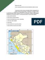 Veda de Agua Subterraneas en El Perú