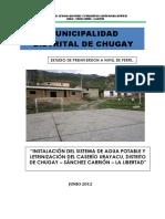 Letrinización Del Caserío Urayacu,